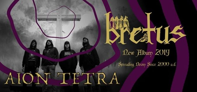 "BRETUS 'Aion Tetra' Album Due This Fall; Debut New Video ""Cosmic Crow"""